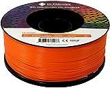 3D FREUNDE Filament aus PLA 1,75 mm 1kg Rolle für 3D Drucker oder Stift - Orange