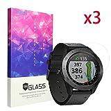 Garmin Approach S60, pellicola Ceston proteggi schermo in vetro temperato 9H per Garmin Approach S60Premium GPS Golf Watch