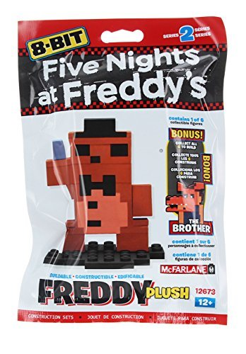 Five Nights at Freddy's 8-Bit Buildable Figure: Plush Freddy