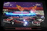 LED Neon Bild - Hailey´s Diner Neonreklame looks like USA! Hot Rod Muscle Cars
