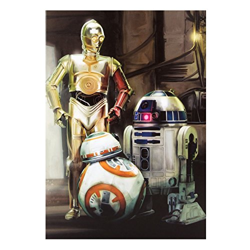 "Poster Personaggi ""Star Wars"", Misura Media"