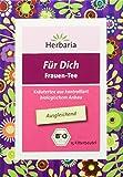 Herbaria 'Für Dich Frauentee' 15FB BIO Ausgleichender Kräutertee für Frauen Aus kontrolliert...