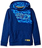 Under Armour Kinder SC30 Fleece Hoody Oberteil, Royal/Taxi (400), YXS