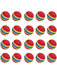 Générique - Pelotas de golf de esponja para formación (20 unidades), multicolor