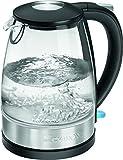 Clatronic WKS 3680 G Glas-Edelstahl-Wasserkocher 1