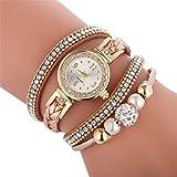 Herren Chronograph Quarz Uhr mit Leder Armband