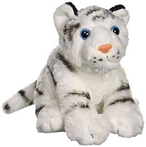 Wild Republic 10851Peluche Blanca Tiger Baby, cuddlekins Peluche, Peluche, 20cm