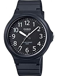 Casio Collection Herrenuhr Analog Quarz mit Resinarmband – MW-240-1BVEF