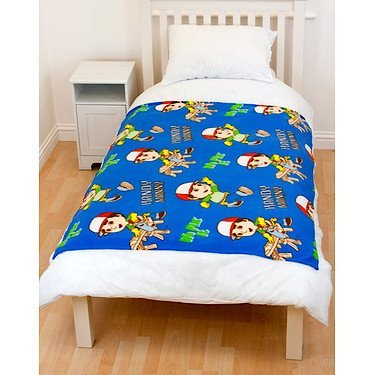 Handy Manny Tool Fleece Blanket