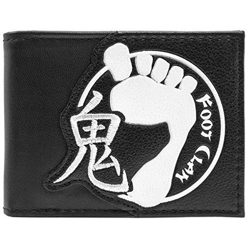 Mirage TMNT Fuß-Clan Logo Schwarz Portemonnaie Geldbörse