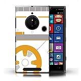 Phone Case for Nokia Lumia 830 Cute Sci-Fi Faces BB Droid