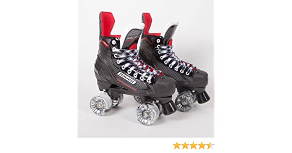 Bauer Quad Roller Skates NSX Airwave Wheels 2018 Model Conversion