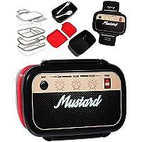 Preisvergleich für alles-meine.de GmbH 7 TLG. Set _ XL Lunchbox / Brotdose / Bento Box - Radio - Rock Musik Box -..