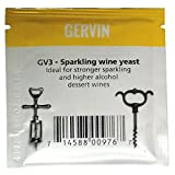 Best Wine Yeasts - Gervin GV3 Sparkling Wine Yeast Sachet 5g Review