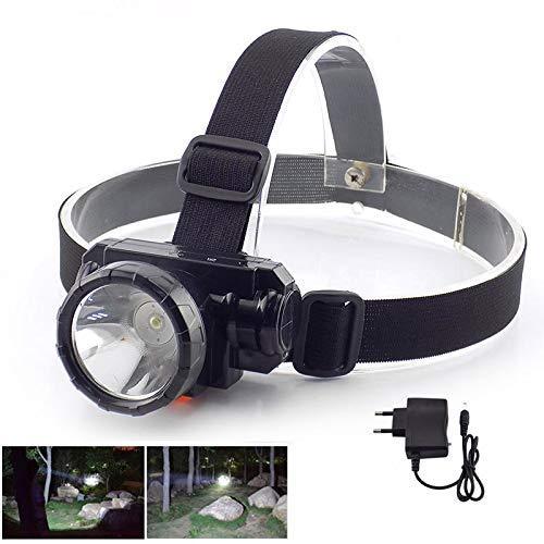 Kopflicht Leistungsstarke Frontlicht Blitzkopf Lampe wiederaufladbare leD Scheinwerfer ultrahelle Batterie Ladegerät Licht Licht