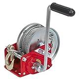 Sealey GWC2000B - Cabestrante manual con freno y cable (capacidad de hasta 900 kg)