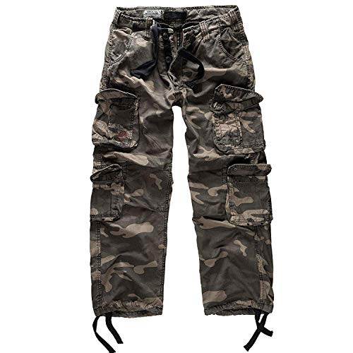 Trooper Airborne Trousers Lightning Edition Blackcamo - M
