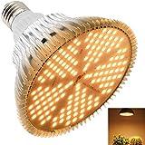 MILYN 100W LED Pflanzenlampe E27 150 Leds Vollspektrum Pflanzenlicht LED Grow Light, Achstumslampe ähnlich dem Sonnenlichts f
