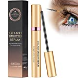 8ml Wimpernserum Augenbrauenserum Wimpern Booster Lash Serum Eyelash Growth Serum mit Hyaluronsäure...