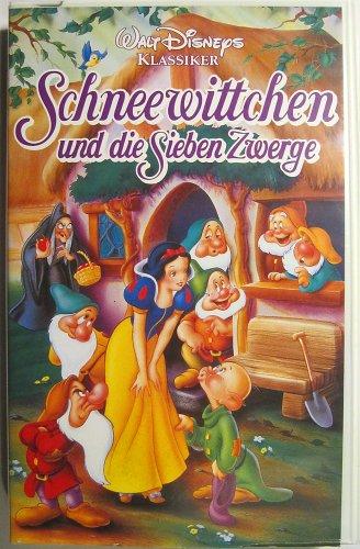 Schneewittchen und die sieben Zwerge (VHS) (Sieben Und Zwerge Die Schneewittchen Disneys)