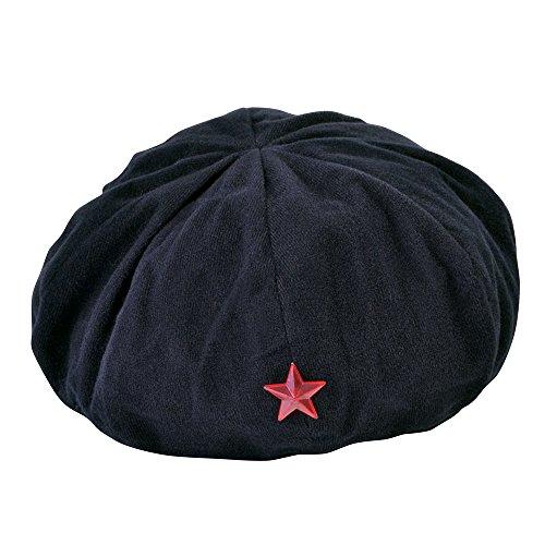Kostüm Guevara Che - Bristol Novelty bh610Revolutionist Hat, schwarz, one size
