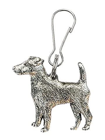 Smooth Fox Terrier Made in U.K Artistic Style Dog Zip Pull Collection