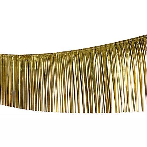 PARTY DISCOUNT Girlande Lametta, 10 m, Gold