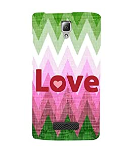 EPICCASE love Mobile Back Case Cover For Lenovo K860 (Designer Case)