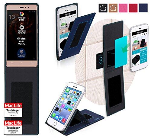 reboon Hülle für Allview X3 Soul Style Tasche Cover Case Bumper | Blau | Testsieger