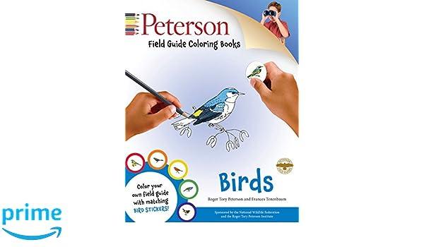 Peterson Field Guide Coloring Books Birds Amazoncouk Peter Alden 9780544026926