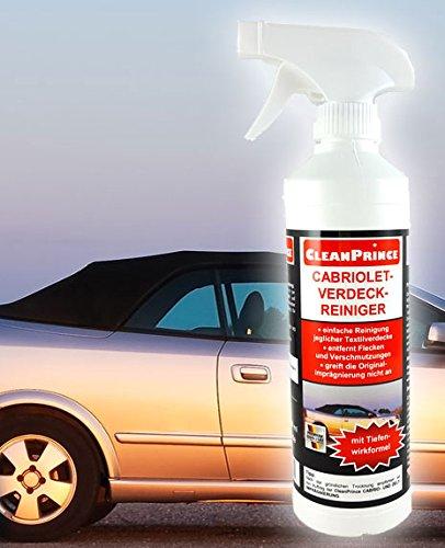 cleanprince-cabriolet-verdeck-reiniger-500ml-Pulitori-Hood-cabrioverdeckreiniger-cabrioletdach-cabrio-verdeckreiniger-tetto-in-tessuto-AUTO-Nastro-cotone-baumwoll-polyestermischungen-acrylfasern