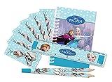 Disney Amscan International Kit de 20Articles de Papeterie thème la Reine des neiges