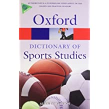 A Dictionary of Sports Studies (Oxford Quick Reference) by Alan Tomlinson (2010-04-05)