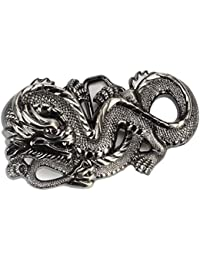 Boucle de ceinture Western Cowboy Winding Dragon Boucle de ceinture pour  Hommes Femmes 0fe23f79082