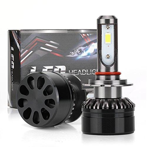 Kit H7 LED Lampadina Faro 6000K 60W 10000LM Faro Bianco Freddo 9V-36V Super Luminoso Tutto in Uno Conversione Plug & Play Automobile Auto Light Halogen Lights o HID Sostituzione Lampadine