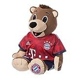 FC Bayern München Berni 85cm Gratis Sticker München Forever, Maskottchen, Kuscheltier, FCB