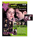 Icons Vampire Chronicle Twilight, limitiertes Bundle: 5 Ausgaben inkl. 38 XL-Poster + 16 Postkarten + 4 Sticker + Türanhänger, Interviews mit Robert Pattinson u.v.m.