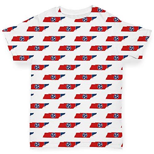 Shirt, Motiv: Tennessee USA Gr. 18-24 Monate, weiß ()