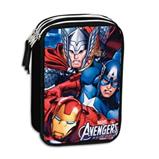 Plumier Vengadores Avengers Marvel Twister triple