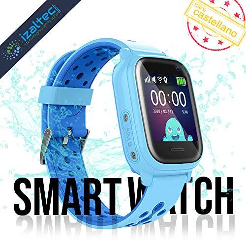 Smartwatch niños con localizador GPS+WiFi+AGPS+LBS Llamadas y cámara de Fotos. Reloj Inteligente...