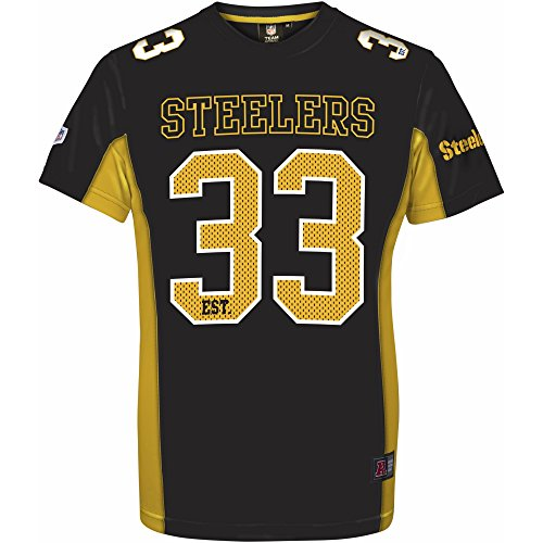 ... 39THIRTY Stretch Fit Home Cap. Majestic NFL PITTSBURGH STEELERS Moro  Mesh Jersey T-Shirt fee17d89e