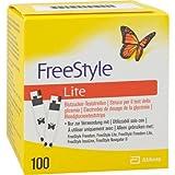 FREESTYLE Lite Teststreifen ohne Codieren CPC 100 St Teststreifen