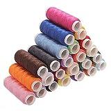 ndier 24pcs ST Runner NL Yarn bobinas carrete coser hilo de coser 200m papelería y Productos para oficina