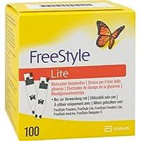 Preisvergleich für FREESTYLE Lite Teststreifen ohne Codieren CPC 100 St