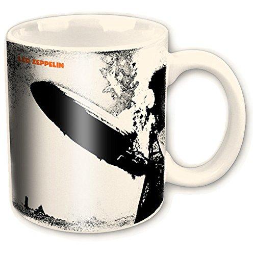 empireposter - Led Zeppelin - Zep One - Größe (cm), ca. Ø8,5 H9,5 - Lizenz Tassen, NEU - Led Zeppelin Boxed Mug: Zep One - Beschreibung: - Keramik Tasse, bedruckt, Fassungsvermögen 320 ml, offiziell lizenziert, spülmaschinen- und mikrowellenfest - (Led Zeppelin Kaffeetasse)