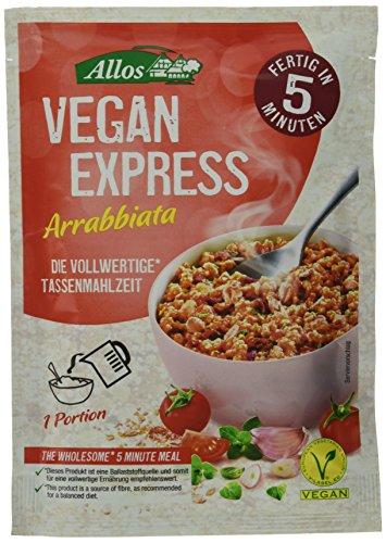 Allos Vegan Express Arrabbiata Art