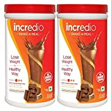 Incredio Shake a Meal Chocolate 500 gm Chocolate- Pack of 2