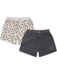 Weird Fish Blackridge 2-Pack Xmas Boxer
