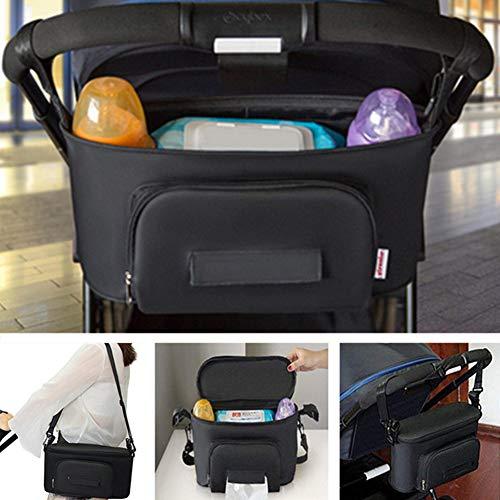 BangShou Bolsos Carro Bebé Bolsas Paseo Organizador