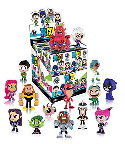 Funko - Figurine DC Comics Teen Titans Go Mystery Minis - 1 boîte au hasard / one Random box - 0889698201391